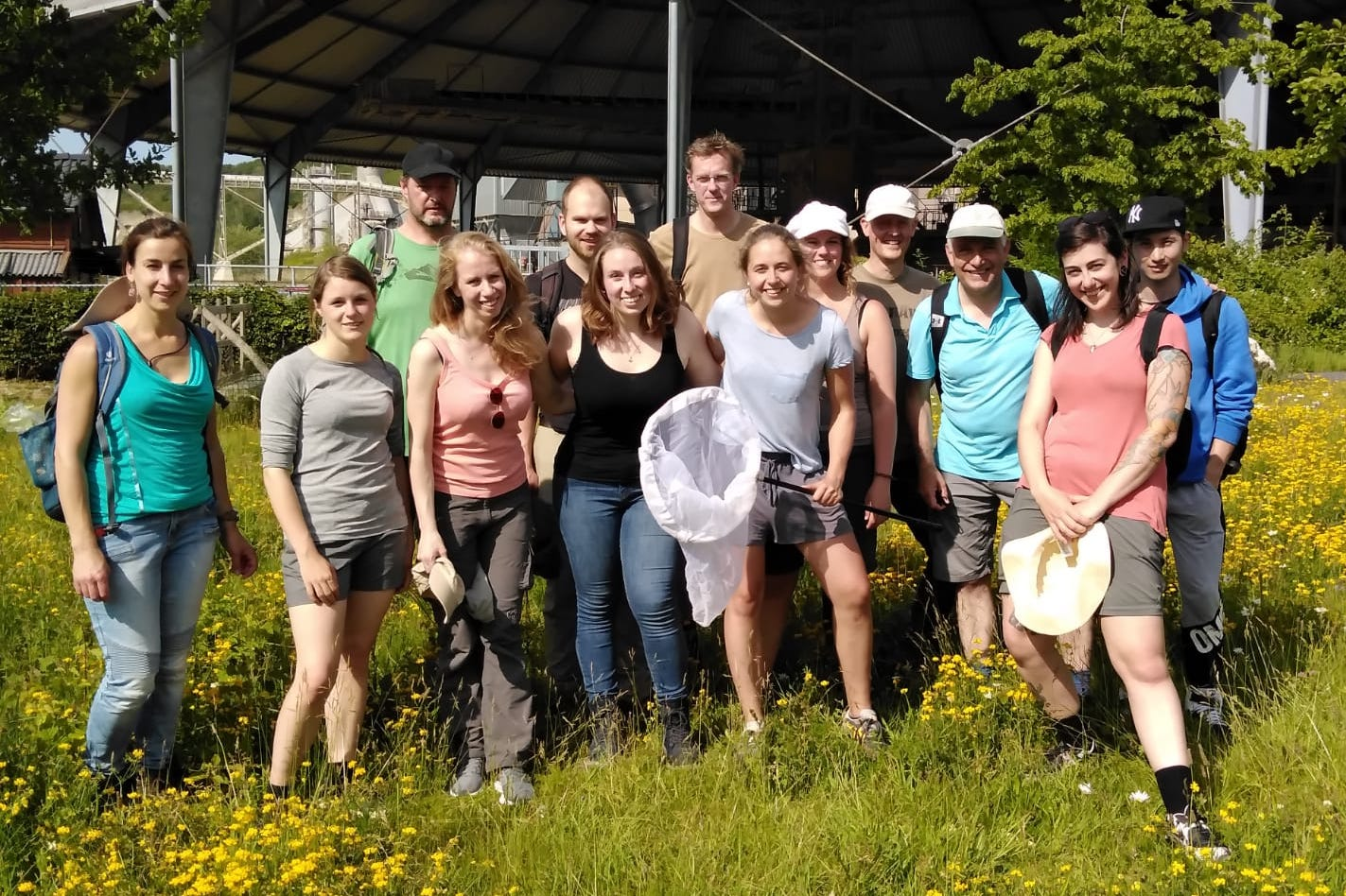 Pollinator Ecology group excursion (June 2019)