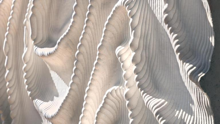 Art by Iris van Herpen in Naturalis